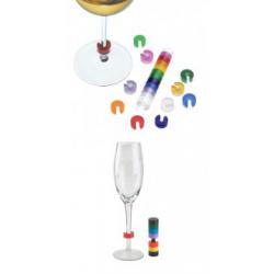 Rozlišovače na skleničky Pulltex
