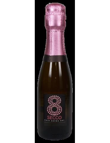 Prosecco 8 secco rosé DOC 0,2l