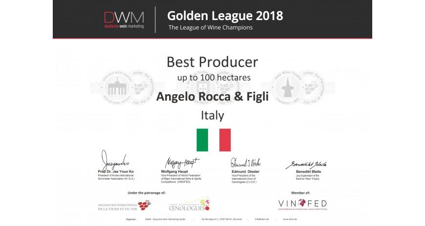 Ocenění vinařství Rocca